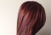 red brown hair