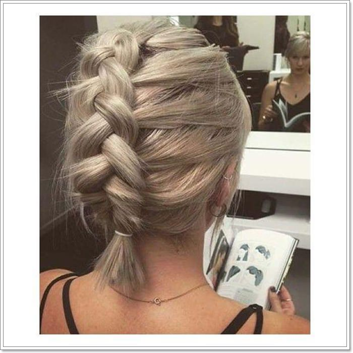95 Stylish Braids For Short Hair The Latest And Hottest Trends