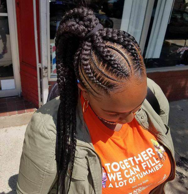 128 Versatile African Braids Hairstyles For A City Lioness Sass