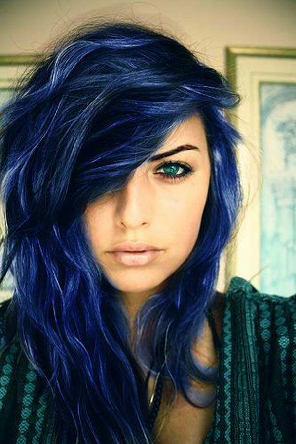 82 Stunning Blue Black Hair for the Gorgeous You