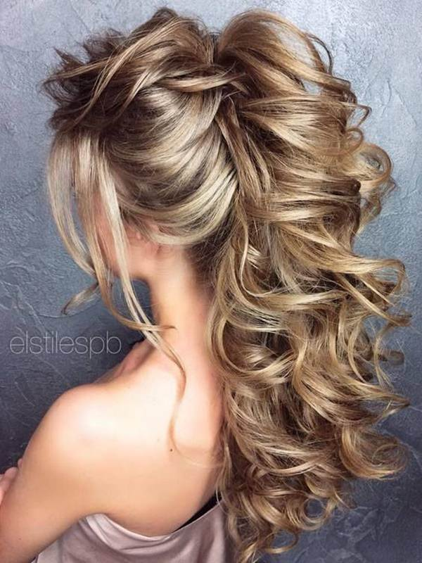 102 Impressive Updos For Long Hair With Curls And Braids