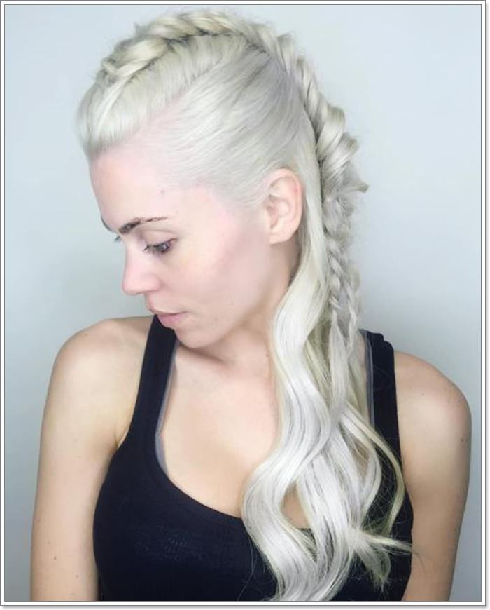 138 Attractive Mohawk Braid Hairstyles To Rock This Year