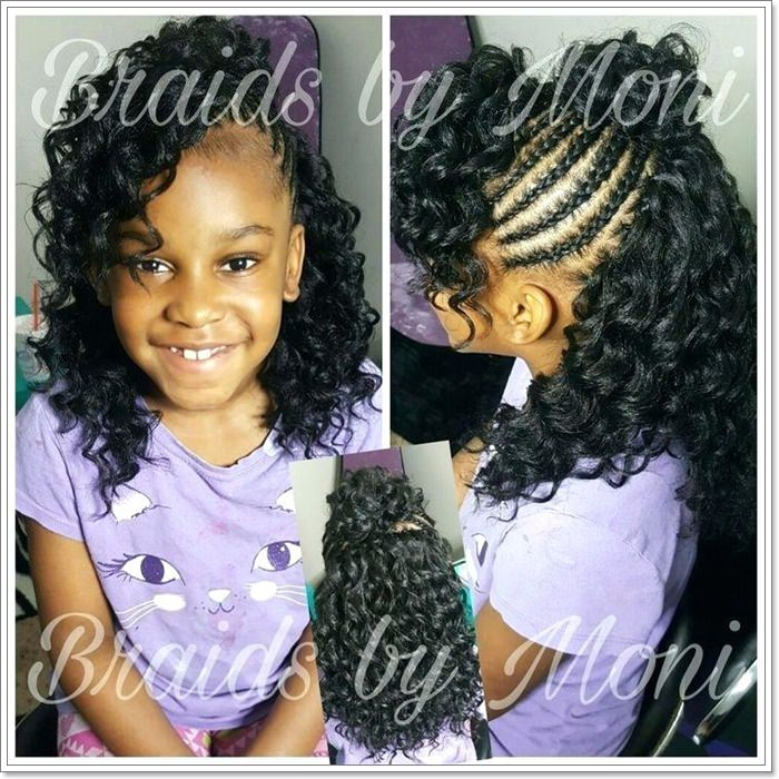 103 Adorable Time Saving Braid Hairstyles For Kids All Ages ...