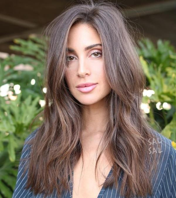 Layered Shoulder Length Hairstyles For Long Faces 44