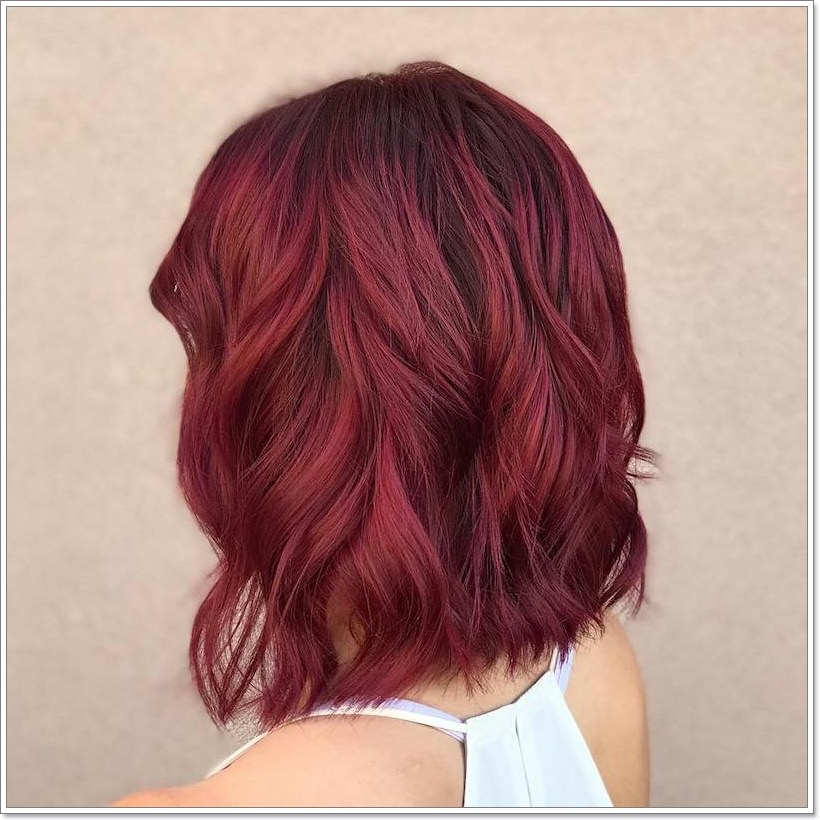 116 Burgundy Hair Images That Can Inspire You To Get Colored